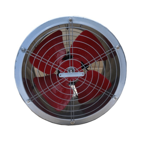 DRUM FAN LOW NOISE 4 BLADE