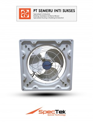 EXHAUST FAN STANDARD WHITE