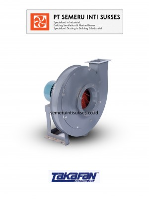 HIGH PRESSURE CENTRIFUGAL FAN